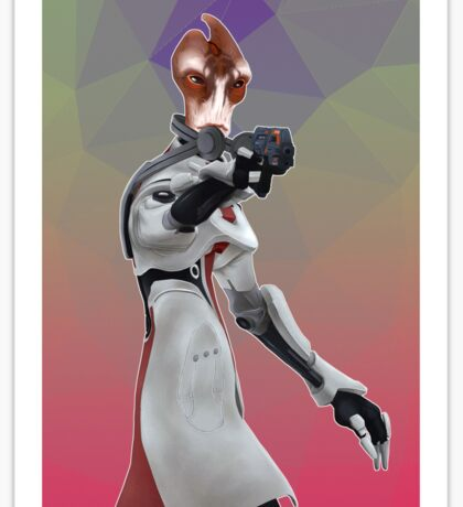 Mass Effect - Mordin Solus Sticker
