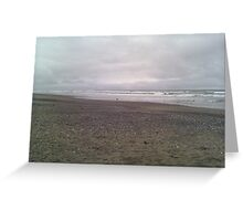 Gray Day Greeting Card