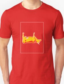 Cow Yellow Red E T-Shirt