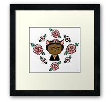 Frida Chihuahua Framed Print