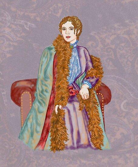 Mary Augusta by redqueenself