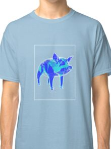 Pig Blue Green A Classic T-Shirt