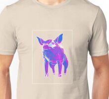 Pig Blue Purple F Unisex T-Shirt