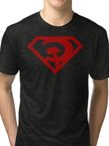 Superman- Red Son Tri-blend T-Shirt