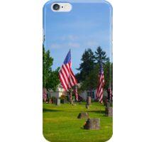 Memorial Rows iPhone Case/Skin