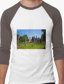 Memorial Rows Men's Baseball ¾ T-Shirt