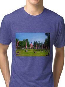 Memorial Rows Tri-blend T-Shirt