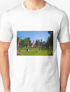 Memorial Rows Unisex T-Shirt