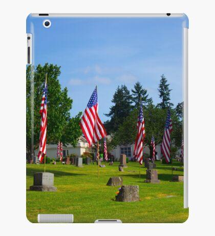 Memorial Rows iPad Case/Skin