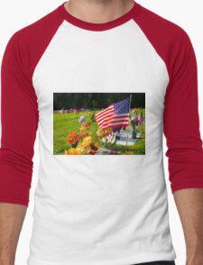 Memorials Men's Baseball ¾ T-Shirt