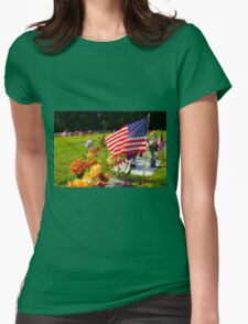 Memorials Womens Fitted T-Shirt