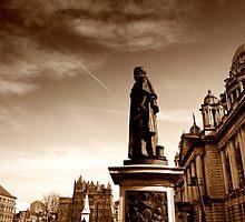 Sir Edward Harland Memorial, Belfast City Hall by Chris Millar