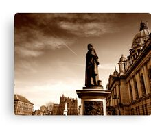 Sir Edward Harland Memorial, Belfast City Hall Canvas Print