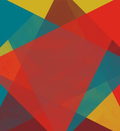 Triangular brushed pattern Sticker