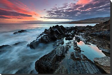 Myponga Beach Sunrise by Bill  Robinson