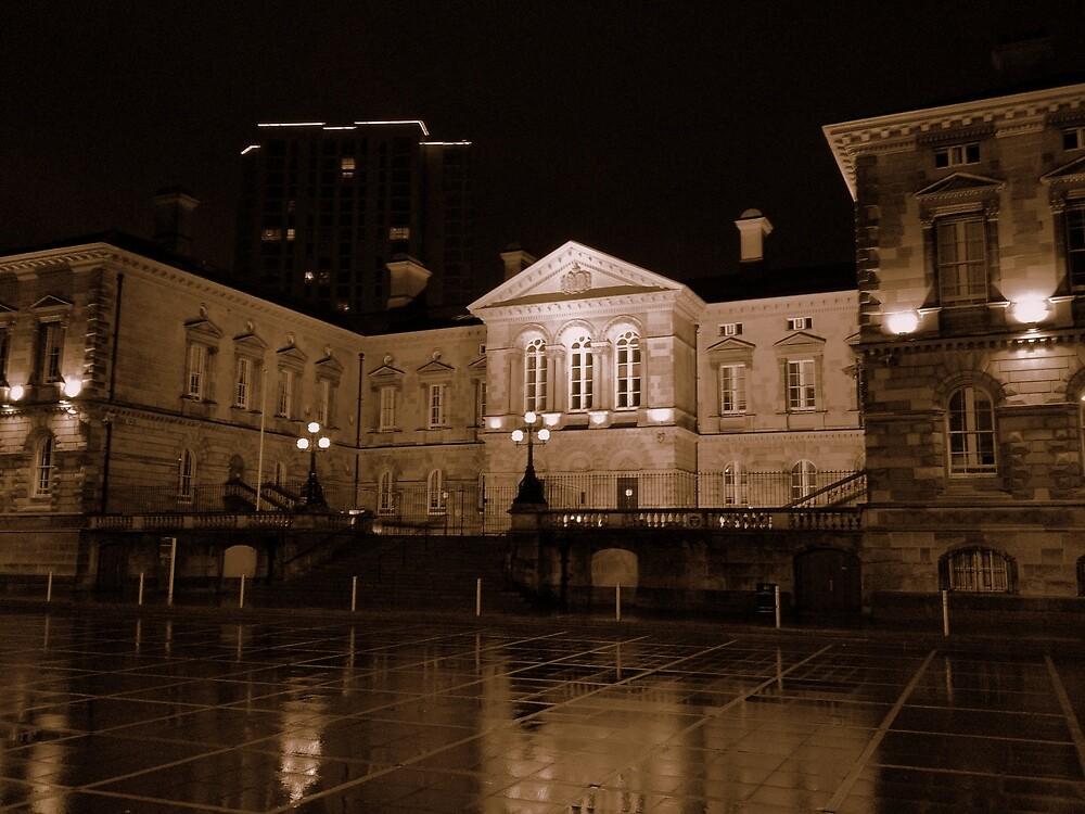 Custom House at night, Belfast by Chris Millar