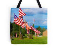 Patriot Row Tote Bag