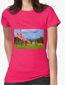 Patriot Row Womens Fitted T-Shirt
