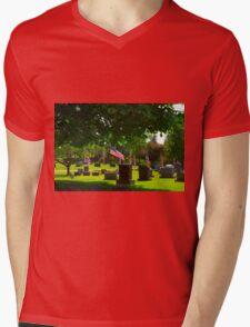 Shady Stones Mens V-Neck T-Shirt