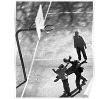 Playing ball in Bronx, NYC Poster