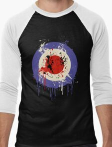 Mod Drip Splatter Men's Baseball ¾ T-Shirt