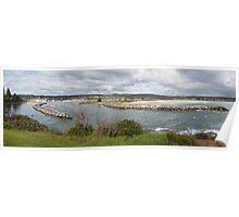 Bermagui harbour panorama Poster