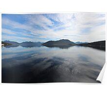 Lake Pedder reflections Poster