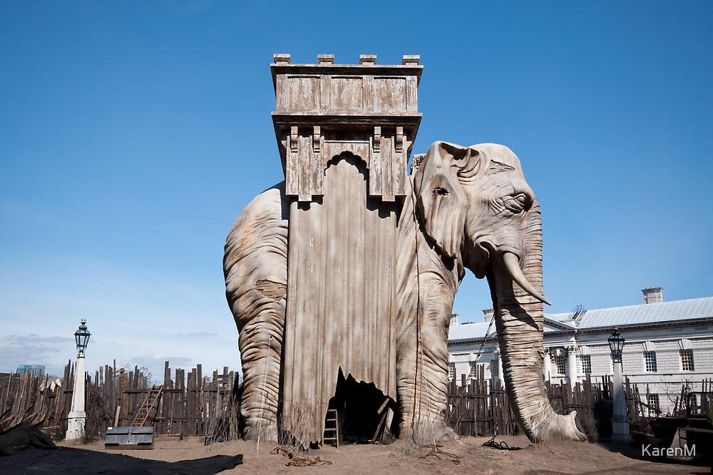 Elephant of the Bastille by Karen Martin