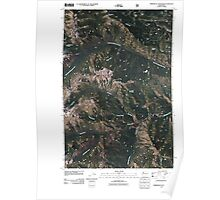 USGS Topo Map Washington State WA Timberwolf Mountain 20110506 TM Poster