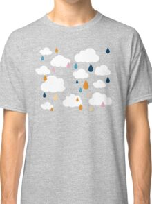 Dark Grey Rainy Day Classic T-Shirt