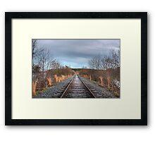 Trails of the Fallen Framed Print