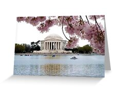 Blossoms Over Jefferson Greeting Card