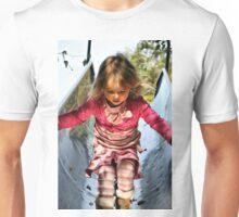 Running Down The Playground Slide Unisex T-Shirt
