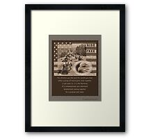 Ride Free for Cristy Framed Print
