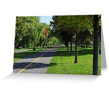 Rene-Levesque park Greeting Card