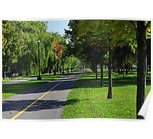 Rene-Levesque park Poster