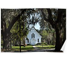 Beautiful old church in the south Poster