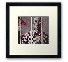 Killer on the loose Framed Print
