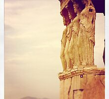 Majestic Caryatids by Catherine C.  Turner
