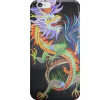 Chinese Fire Dragon iPhone Case/Skin