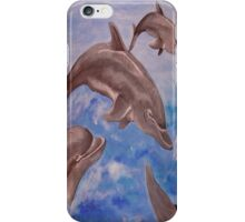 Dolphin High Five iPhone Case/Skin