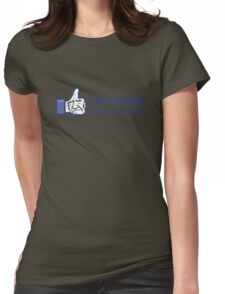 Leonard Likes this Post Womens Fitted T-Shirt