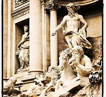 Stark Trevi Fountain  by Catherine C.  Turner