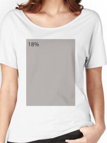18% Gray Women's Relaxed Fit T-Shirt