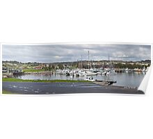 Bermagui boats at rest Poster