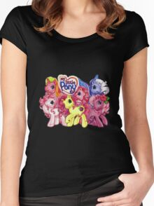 Vintage My Little Pony Women's Fitted Scoop T-Shirt