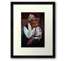 Buda Manche Framed Print