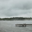 Fog on Lake Moultrie by Widcat