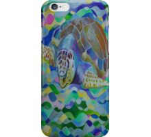 Loggerhead Turtle iPhone Case/Skin