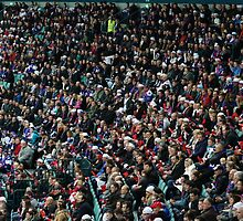 fans at the stadium  by mrivserg